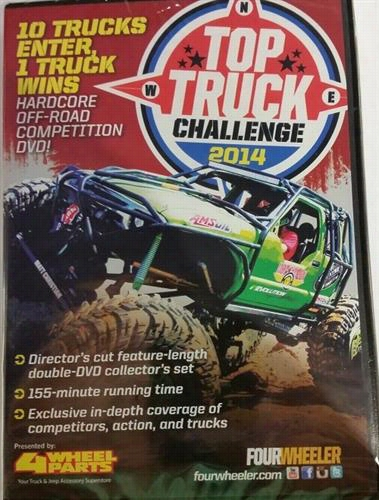 Videos Top Truck Challenge 2014 DVD TTC14DVD Top Truck Challenge