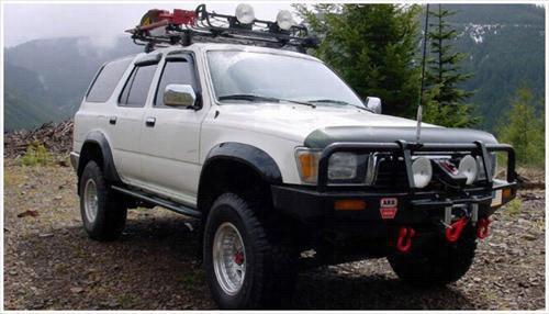 1990 TOYOTA 4RUNNER Bushwacker Toyota 4Runner Extend-A-Fender Flare Set
