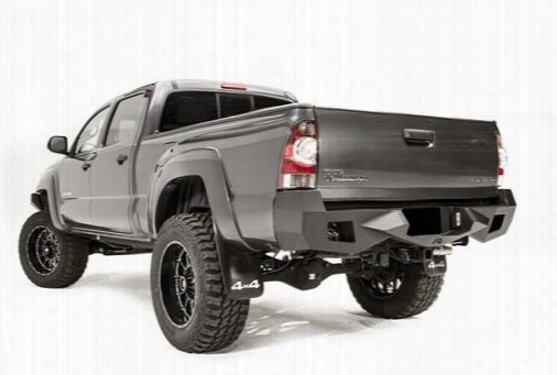 2012 TOYOTA TACOMA Fab Fours Vengeance Series Rear in Black Powder Coat