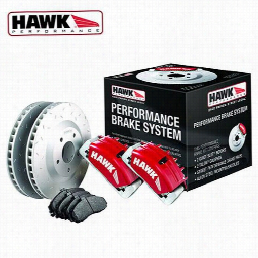 Hawk Performance Performance Brake System HCKS3006 Disc Brake Calipers, Pads and Rotor Kits