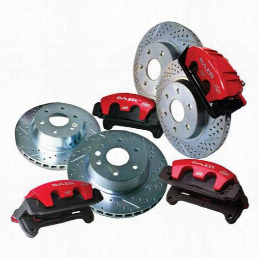 Baer Brakes Baer Brake Sytems 4302122 Disc Brake Calipers, Pads and Rotor Kits
