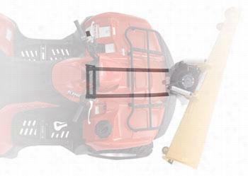 "Warn ProVantage ATV Center Mount Plow System with 60"" Straight Blade ATV60STRAIGHTCENTER Warn ATV and UTV Plow System Kits"
