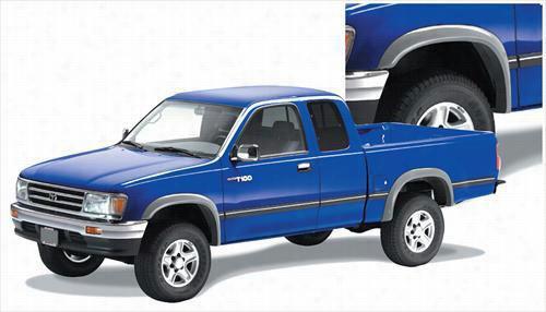 1993 TOYOTA T100 PICKUP Bushwacker Toyota T-100 Extend-A-Fender Flare Set