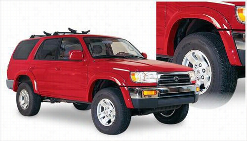 1996 TOYOTA 4RUNNER Bushwacker Toyota 4Runner Extend-A-Fender Flare Set