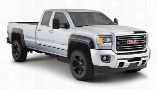 2015 GMC SIERRA 2500 HD Bushwacker GMC Sierra Boss Pocket Style Fender Flare Set