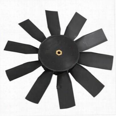 Flex-A-Lite Electric Fan Blade; Replacement Blade For Reversible Fan PN[106]; 6.5 in. Pusher/Puller; Brass Inse 32126 Fan Blade