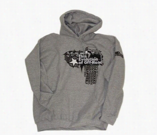 Evolution of Off-Road Apparel Evolution of Off-Road Hooded Sweatshirt in Gray, XX-Large EVOHOODXXL Jackets and Sweatshirts