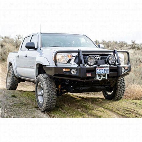 2012 TOYOTA TACOMA ARB 4x4 Accessories Black Toyota Tacoma Delux Bar with Winch Mount