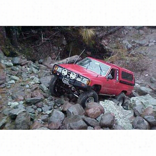 1984 TOYOTA 4RUNNER ARB 4x4 Accessories Black Toyota Pickup Bull Bar Winch Mount Bumper