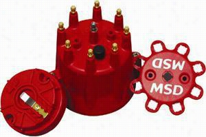 MSD Distributor Cap And Rotor Kit 84335 Distributor Cap & Rotor