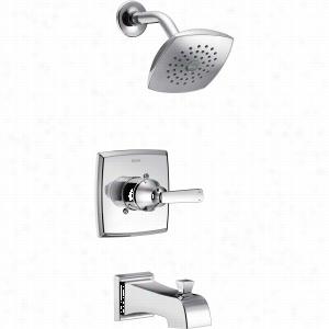 Delta Faucet T14464 - Single Handle Monitor 14 Series Tub & Shower Faucet Trim