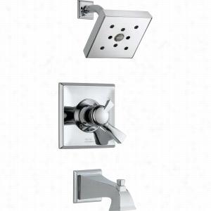 Delta Faucet T17451-H2O - Single Handle 17T H2O Series Tub & Shower Faucet Trim