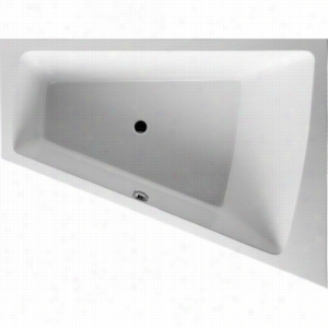 Duravit 710223-00-2-53-1090 - Right Corner Whirltub Including Jet-System With Remote, Heater, and Ozone