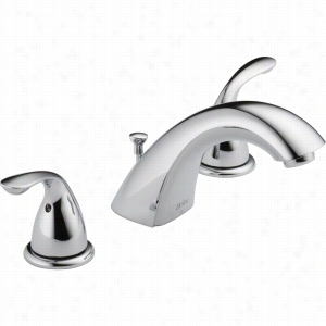 Delta Faucet 3530LF-MPU - Two Handle Widespread Bathroom Faucet