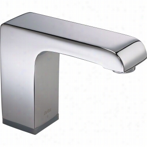 Delta Faucet COMMERCIAL 601T050 - Arzo Handsfree SS Lavatory Battery - 0.5 GPM