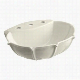 "Kohler K-2230-8-47 - 21"" Single Bowl Pedestal 3-Hole 8"" Centers Vitreous China Bathroom Sink Only, 21 3/4"" x 18 1/4"" x 8 1/2"" Deep"