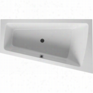 Duravit 710213-00-4-51-1090 - Built-In Right Corner Whirltub Including Combination System With Light, Heater, and Ozone