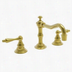 Newport Brass NB930L-01 - Widespread Lavatory Faucet, Lever Handles