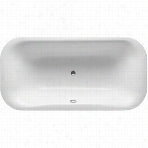 Duravit 710184-00-3-52-1090 - Whirltub, Built-In Version Including Combination System With Remote and Heater