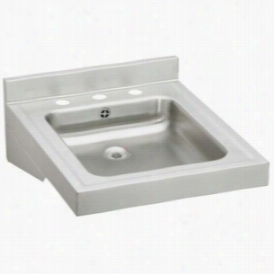 Elkay WCLWO1923OSD3 - ADA Compliant Wheelchair Wash-Up Lavatory Sink