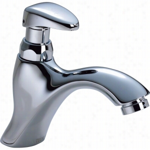 Delta Faucet COMMERCIAL 87T105 - Single Hole Metering Slow-Close Lavatory Faucet