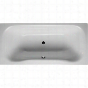 Duravit 710183-00-4-50-1090 - Built-In Rectangle Whirltub Including Combination System With Light and Heater