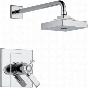 Delta Faucet T17T286 - Single Handle Thermostatic Shower Only Faucet