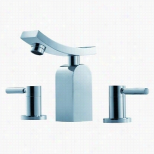 Fluid F14006 - Two Lever Handle Widespread Lavatory Tap