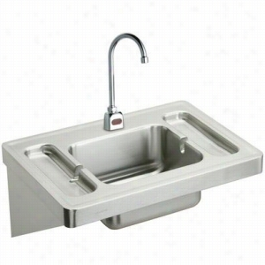 Elkay ESLV2820SACTMC - Surgeon's Lavatory Sink Package with Instrument Trays