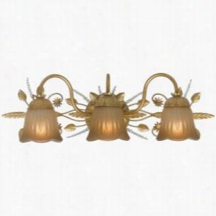 Crystorama Lighting 4743-GL - Bath Sconce Swarovski Spectra Beads