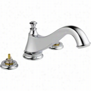 Delta Faucet T2795-LHP - Two Handle 3-Hole Roman Tub Faucet Trim