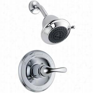 Delta Faucet T13220-SHC - Single Handle Monitor 13 Series Shower Only Faucet Trim, w/Hot & Cold Indicators