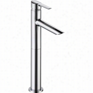 Delta Faucet 761LF - Single Handle Bathroom Vessel Faucet with Riser