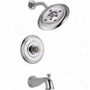 Delta Faucet T14497-LHP - Single Handle Monitor 14 Series Tub & Shower Faucet Trim