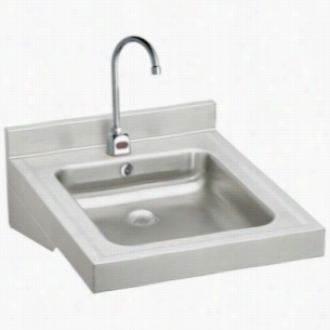 Elkay WCLWO19230SDSACMC - ADA Compliant Wheelchair Wash-Up Lavatory Sink Package