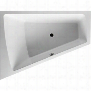 Duravit 710222-00-3-51-1090 - Left Corner Whirltub Including Combination System With Heater and Ozone