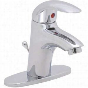 Premier Faucets 284447 - Lead-Free Single-Handle Lavatory Faucet with Brass Pop-Up