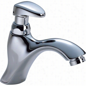 Delta Faucet COMMERCIAL 87T111 - Single Hole Metering Slow-Close Lavatory Faucet