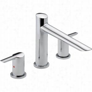 Delta Faucet T2761 - Two Handle 3-hole Roman Tub Faucet Trim