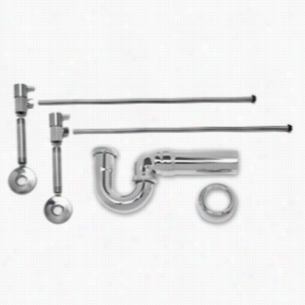 Mountain Plumbing MT3045-NL-CPB - New England Lavatory Supply Kit - Angle
