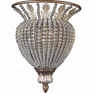 Crystorama Lighting 6721-WP - Wall Sconce Crystal Beads