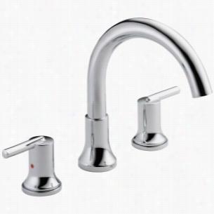 Delta Faucet T2759 - Two Handle 3-Hole Roman Tub Faucet Trim