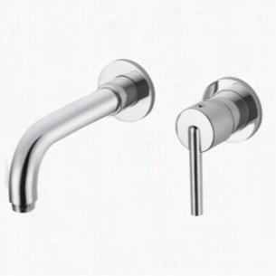 Delta Faucet 3559LF-WL - Single Handle Wall Mount Bathroom Faucet