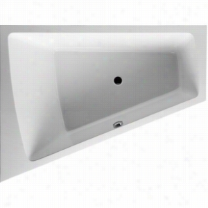 Duravit 710220-00-3-52-1090 - Left Corner Whirltub Including Combination System With Remote and Heater