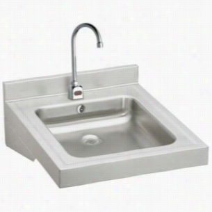 Elkay WCLWO19230SDSACTMC - ADA Compliant Wheelchair Wash-Up Lavatory Sink Package