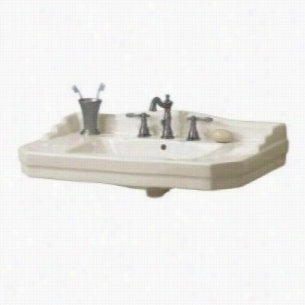Foremost F19008W - Console Pedestal Sink Basin Only