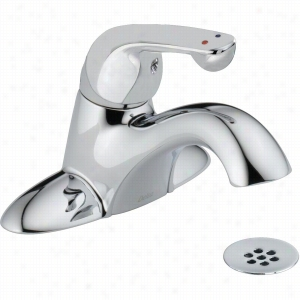 Delta Faucet 523LF-TGMHDF - Single Handle Lever Lavatory Faucet