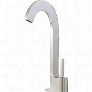 Aquabrass AB-39520-BK - Tall Single-Hole Lavatory Faucet