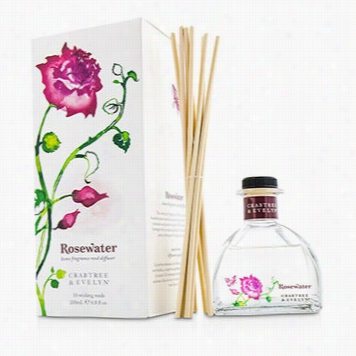 Rosewater Fragrance Reed Diffuser