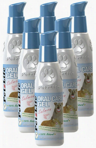 6-PACK Petzlife Oral Care Gel w/ Salmon Oil (24 oz)